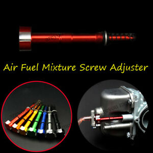 7 Colors Air Fuel Mixture Screw Adjust For Keihin FCR Carburetor