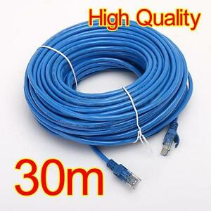 30M Meter RJ45 CAT5 Ethernet Cable Lan Network Wire Internet Lead ...