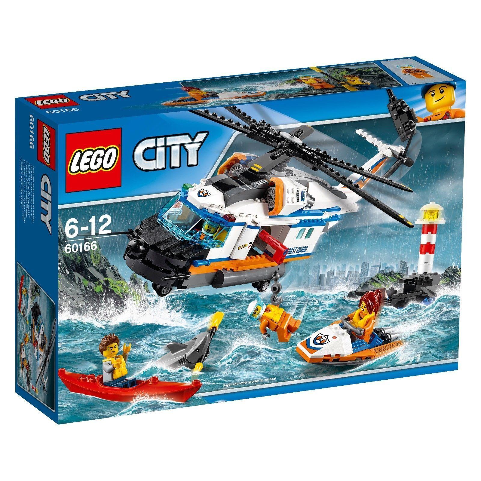 LEGO ®  City 60166  détresse-Hélicoptère de sauvetage  GARDE-CÔTES Centre Nouveau Neuf dans sa boîte  pour pas cher