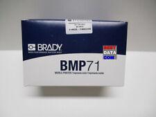 Brady M71 109 427 White On Translucent Self Laminating Label 100 Roll Bmp71
