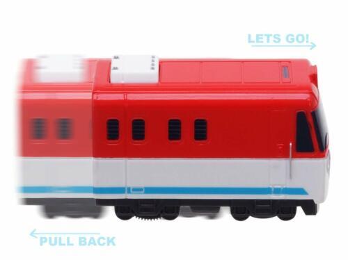 Titipo The Little Train Pull Back Titipo Train Friends 5pcs Mini Toy Trains Set