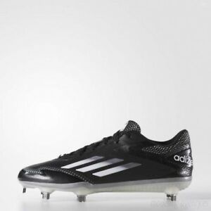 a28f2fa738c6 Adidas AdiZero AfterBurner 2.0 sz 7.5 Black Metal Baseball Cleats ...