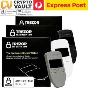 Brand-new-sealed-TREZOR-Cryptocurrency-Bitcoin-Etherium-Litecoin-ERC-20-Wallet