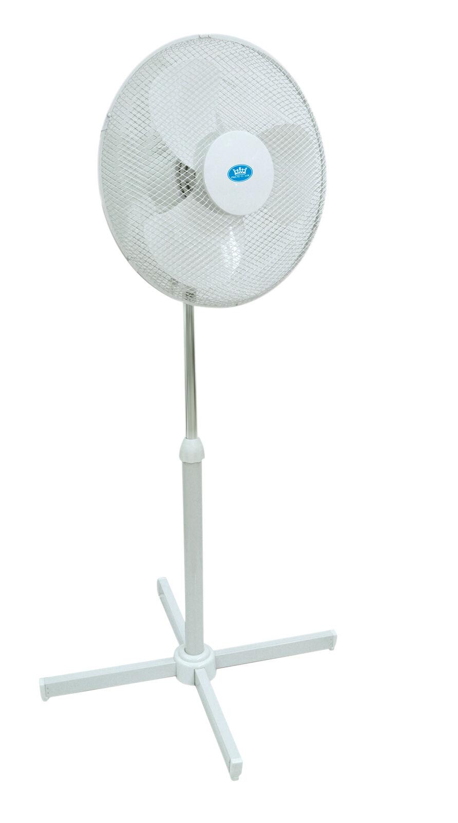 Prem-i-air 16 Pulgadas Velocidades 40cm Oscilante 3 Velocidades Pulgadas Home Office de pie ventilador de 39af9d