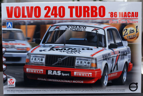 1986 Volvo 240 Turbo 1:24 Aoshima Beemax 098257 # 16
