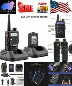 Handheld-Radio-Scanner-Police-Fire-Transceiver-Portable-Antenna-EMS-HAM-Two-Way