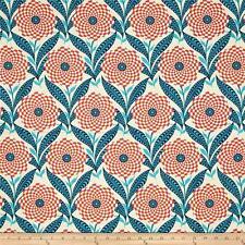 FreeSpirit Amy Butler ZEBRA BLOOM Cotton Fabric -LINEN- £12.50 per M - Free P&P