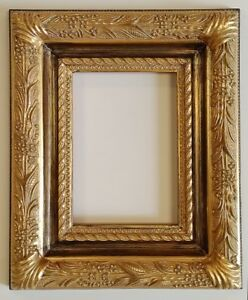 Picture Frame 5x7 Vintage Chic Antique Style Baroque Gold Ornate W