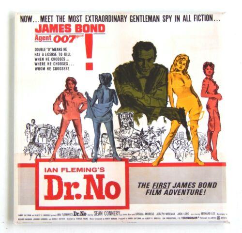 "Dr No FRIDGE MAGNET movie poster /""style S/"""