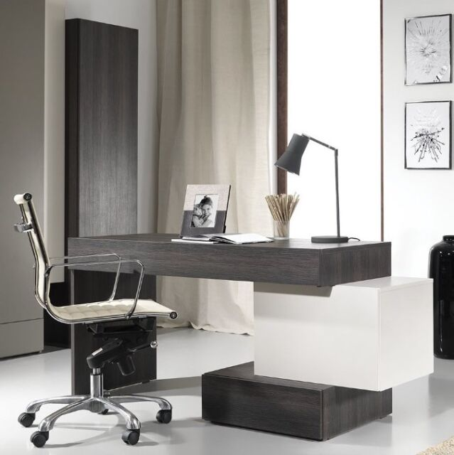 Modern Home Office Desk Executive Computer Unit Large Compact Table Pc Furniture For Online Ebay