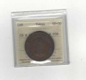 Canada-Token-LC-47B1-Breton-958-ICCS-Graded-VF-30-One-Penny-Token