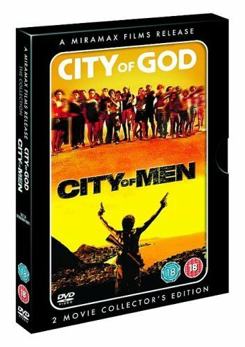 1 of 1 - City Of God & City Of Men (DVD,2-Disc Set) Portuguese with English Subtitles