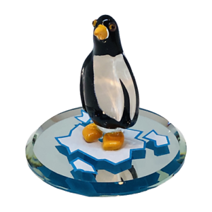 Glass Baron Penguin Figurine