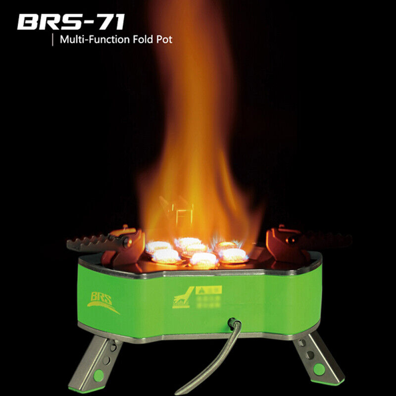 BRS-71 Portable Outdoor Camping Gas Stove  High Mountaig Outdoor Stove 9800W  fast shipping