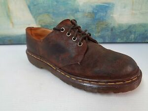 923ac57717bc Vintage Dr Marten 1561 59 Brown Leather Lace Up Tie Oxford GUC Size ...