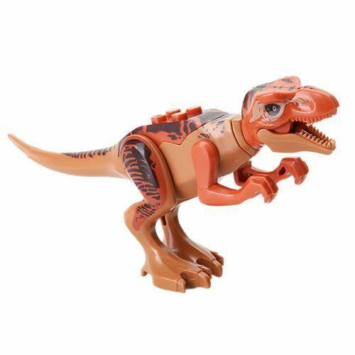 Tiranossauro T-Rex Dinossauro Jurassic Park minifigura Boneco vendedor nos EUA Novo
