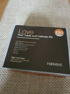 Love Your Table Cabinet Kit Harveys Care Furniture Protection Kit New Ebay