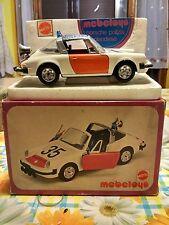 Mebetoys Porsche 911 s Polizia olandese police scala 1/25 con scatola with BOX