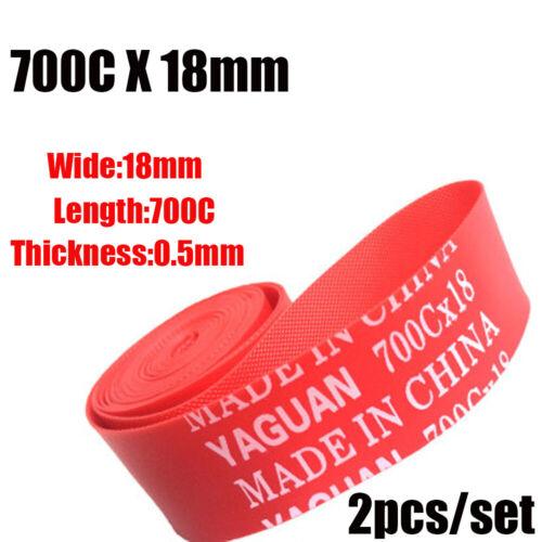 Top Rim Liner Red Anti Puncture Tape Bicycle Tire Liner  Pad Bike Inner Tube