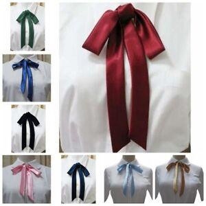 Women-Neck-Tie-Bow-Tie-Professional-Uniform-Neckties-Female-Colleague-Bank-Staff