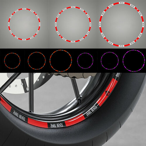 """Decorative Motorcycle Wheel Tappet Tire Stickers Decals Tags Paster 10/"""" 12/"""" 18/"""""""