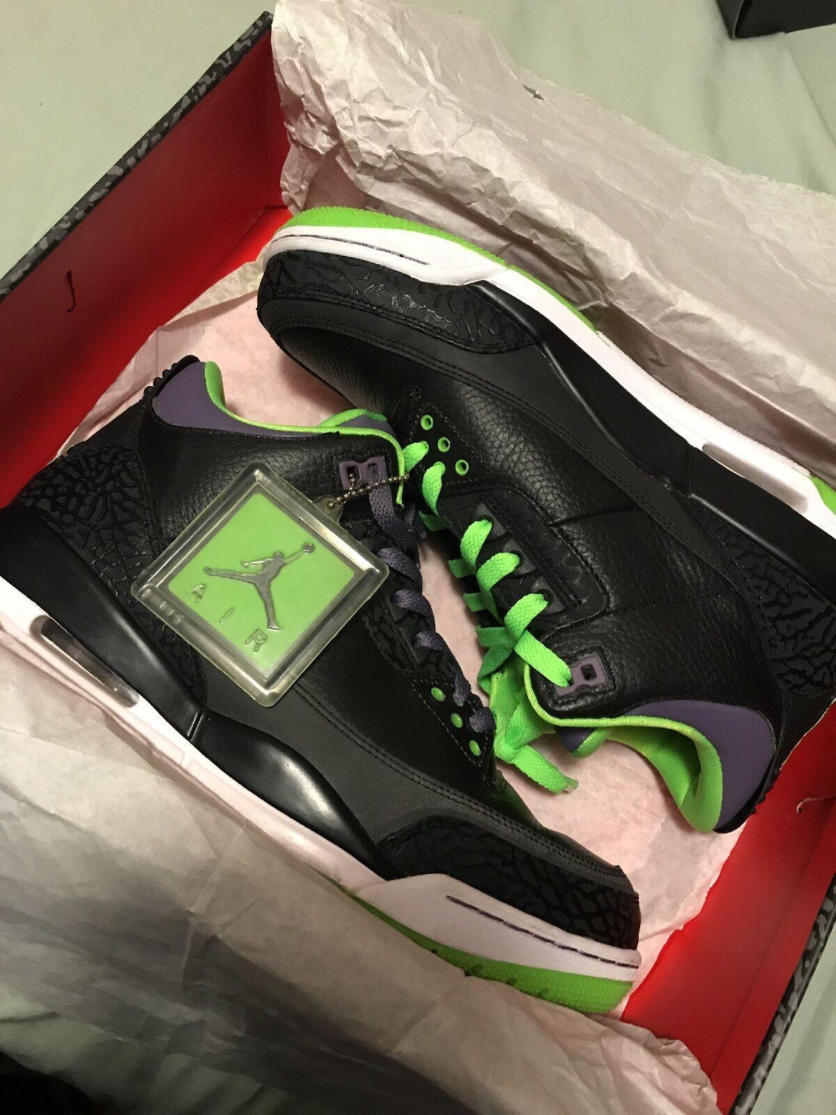 Nike Air Jordan 3 Retro Joker US Size 10.5