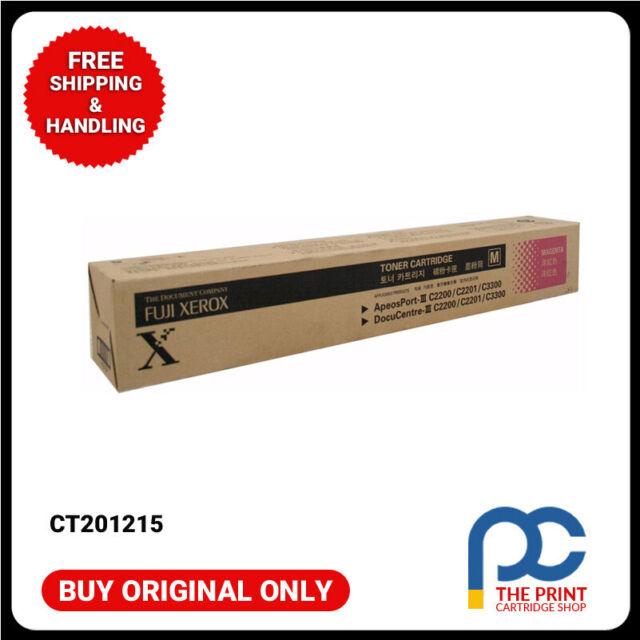 New & Original CT201215  Fuji Xerox Magenta Toner Apeosport  III 2200 2201 3300