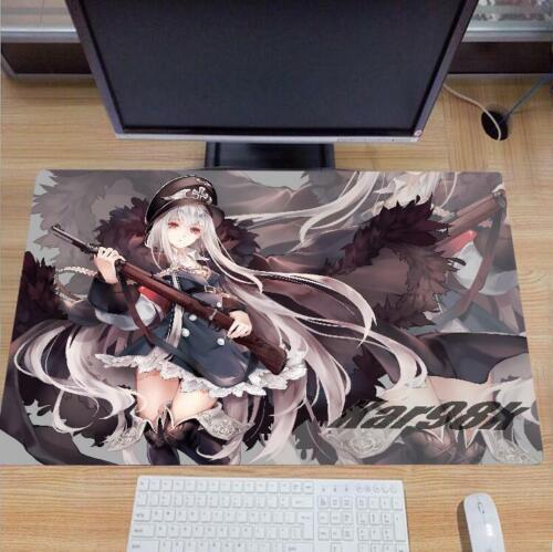 Hot Girls Frontline Kar98k Keyboard GAME Mouse Pad Table Mat Otaku Gift 70*40CM