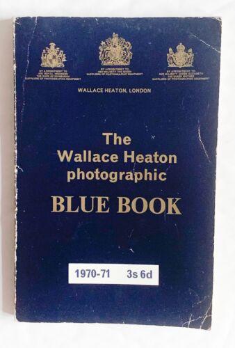 Wallace Heaton Fotográfico Libro Azul 1970-1971