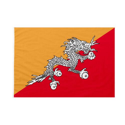 Bandiera da pennone Bhutan 50x75cm