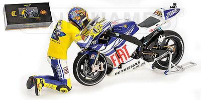 1:12 Pit board pitboards Valentino Rossi Yamaha 2010 no minichamps RARE