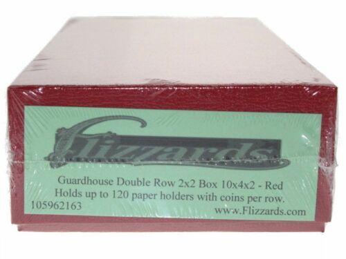 Guardhouse Double Row 2x2 - Red Box - 10 x 4 x 2