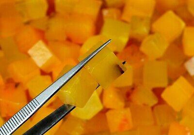 Orange Sapphire African Gemstone Rough Lot 250 Carat Natural Cube//Square Shape
