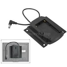 Battery Adapter Base Plate for Lilliput FEELWORLD Monitor Sony NP-F970 F550 Y0R9