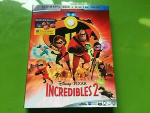Incredibles-2-2018-Blu-ray-DVD-Digital-Code-Brand-New-Sealed-W-Slip-Cover