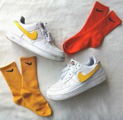 instabile Miniatura una volta  Nike Giallo Calzini colorati personalizzati   Nuovi   EU 38-44/UK 5-9   eBay