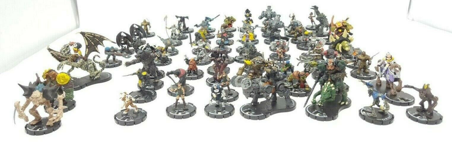 MAGE VIKT FIGURES MIXERAD Lot 68 PIECES