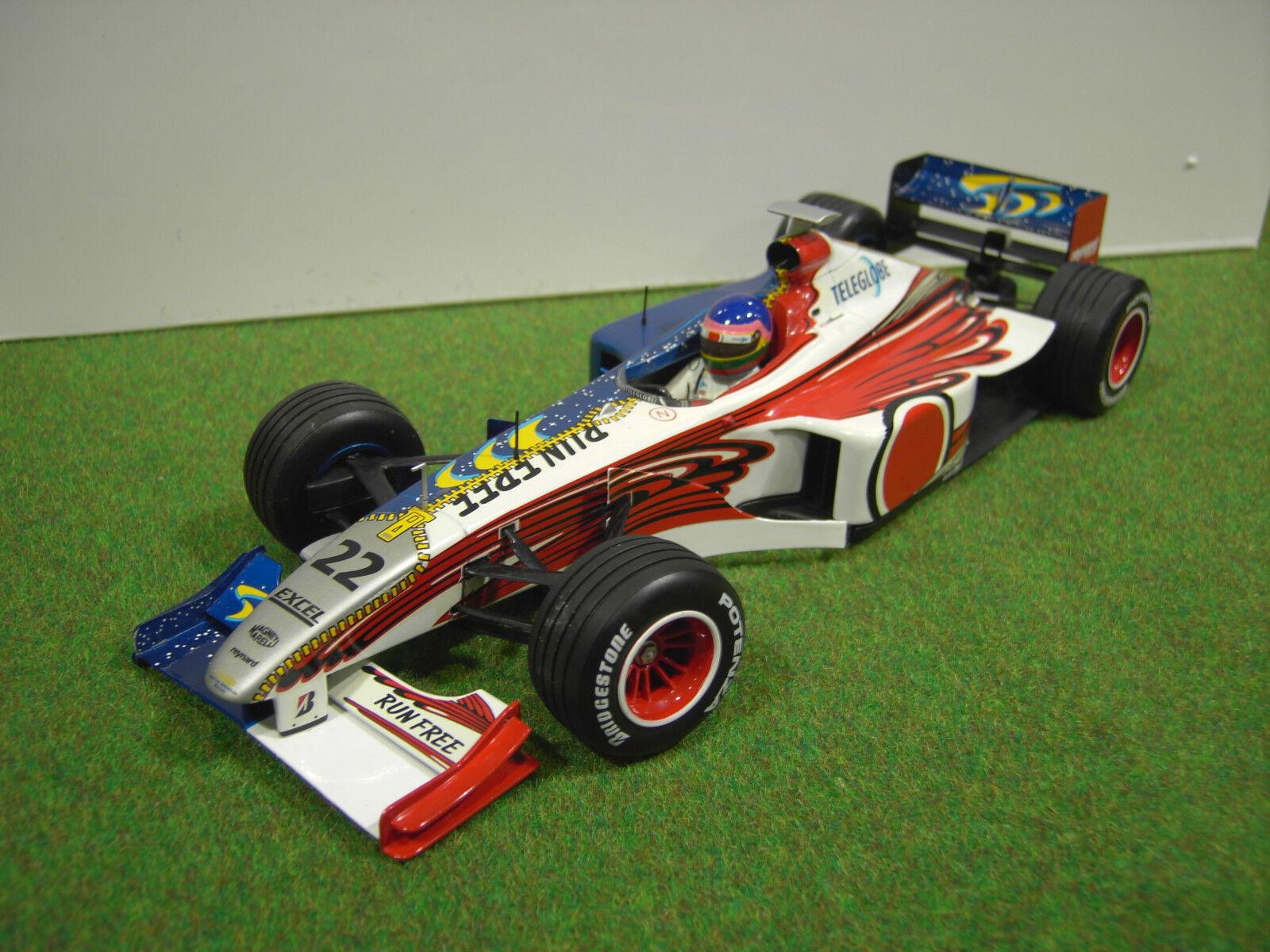 presa di marca F1 F1 F1 BAR 01 SUPERTEC 1999  22 Villeneuve 1 18 MINICHAMPS voiture miniatu formule 1  controlla il più economico