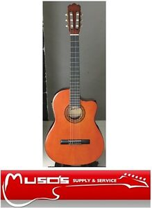 Ashton-CG44CEQ-Acoustic-Electric-Classical-Guitar-Amber-249