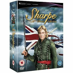 SHARPE-CLASSIC-COLLECTION-dvds-SEALED-NEW-All-15-Sharpe-Adventures-5037115293336