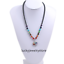 Natural Gem Stone Black Hematite 7 Chakra Tree of Life Men Necklaces 22 Inch