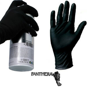 10-x-GUANTES-PANTHERA-Latex-Negro-BLACK-GLOVES-CHOOSE-SIZE-GRAFFITI