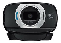 Logitech C615 HD Portable 1080p Webcam with Autofocus 8.0 Megapixel