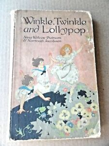 Winkle-Twinkle-and-Lollypop-Sturgis-1918-25th-Ed-HC-No-DJ-Fair-to-Good-Cond