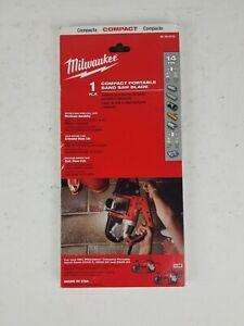 Milwaukee 48390519 Compact Bandsaw Blades