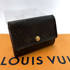 Louis Vuitton Monogram Porte Monnaie Plat M61930 Coin Purse