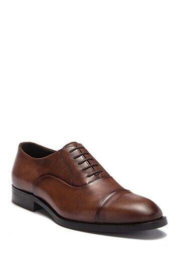 a buon mercato To avvio avvio avvio New York Beragam Marrone Leather Oxford Lace up Dress scarpe Uomo Dimensione 10  Sconto del 40%