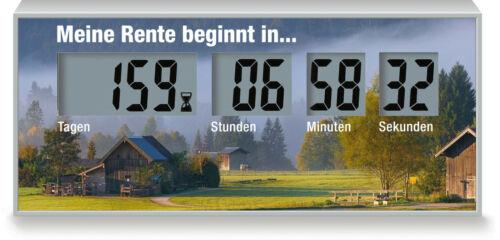 countdowner la retraite du temps restant à la retraite De compte à rebours Horloge Pour pension