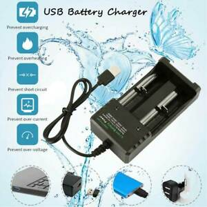 Dual-USB18650-Battery-Charger-Lithium-3-7-1-2V-18500-18350-16340-Universal
