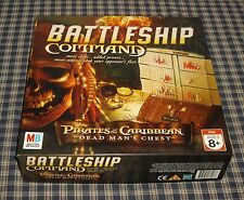2006 Milton Bradley Battleship Command Pirates of the Caribbean Game Complete